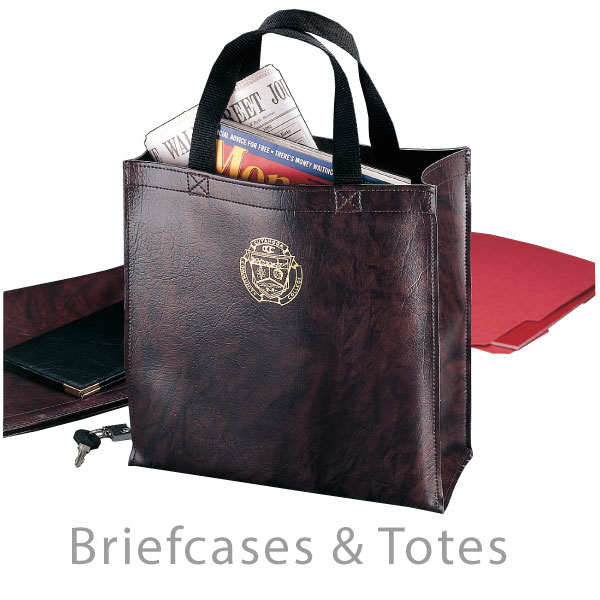 Briefcases and Tote bags - Deluxe imprinted business accessories